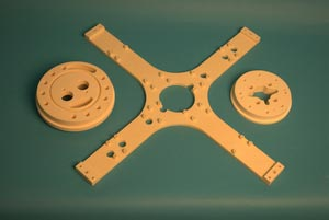 ACI-998 Alumina machined part