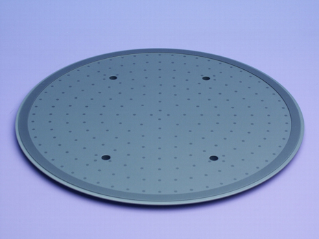 patterned aluminum nitride plate